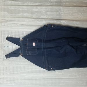 NWT Round House Big and Tall Bib Overalls Round House 64x30